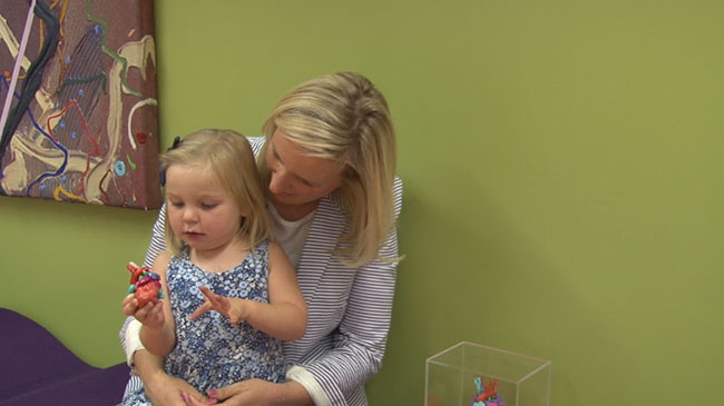 A Toddler's 3D-Printed Heart Model Helps Her Mother Understand the Struggle of Her Child