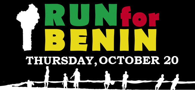 Raising Money for Benin with the Run4Benin 2016!