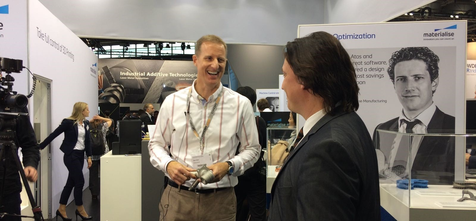 "Materialise Interviews Partner GE: ""The Time for 3D Printing is Now"""