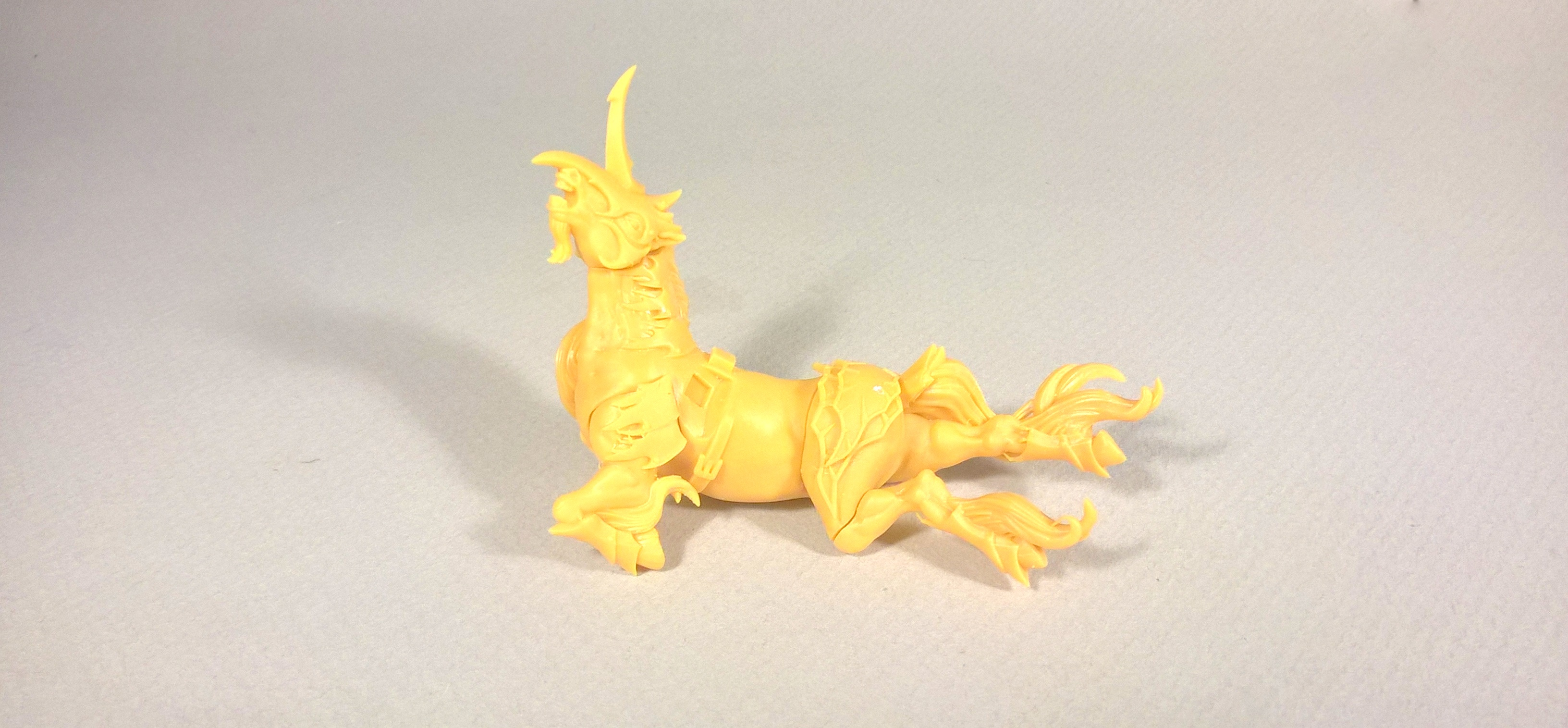 Model Elves and Centaurs Achieve New Levels of Detail with 3D Printing